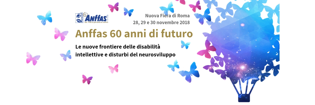 Evento Anffas Nazionale. Elenco workshop 29 novembre 2018